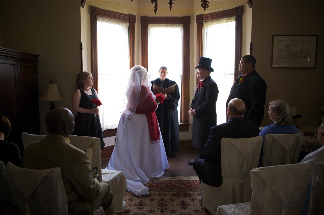 A Formal Intimate Wedding