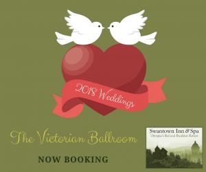 Now Booking 2018 Weddings