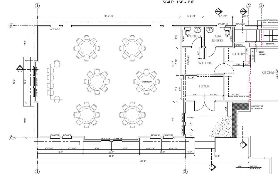 The Grand Victorian Ballroom Floor plan